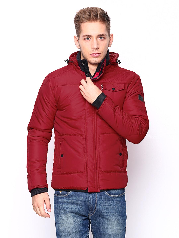 Wrangler Wrangler Men Red Padded Jacket