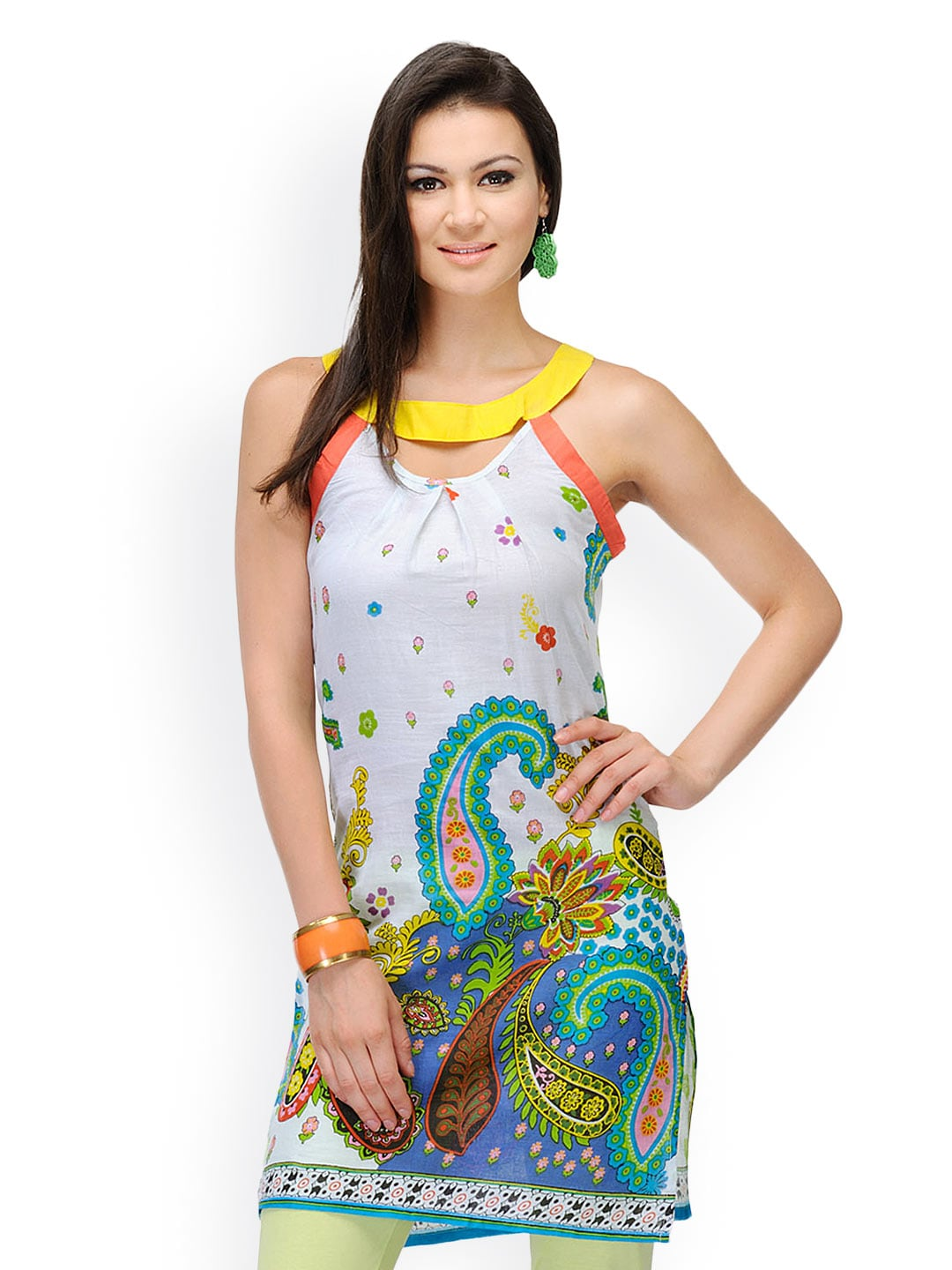 Yepme Women Multicoloured Printed Kurta