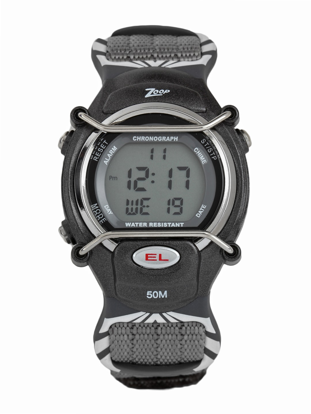 buy zoop boys grey digital watches for boys myntra