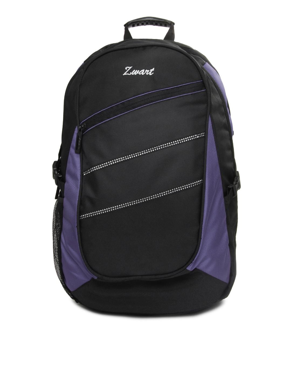 Zwart Zwart Unisex Black Backpack