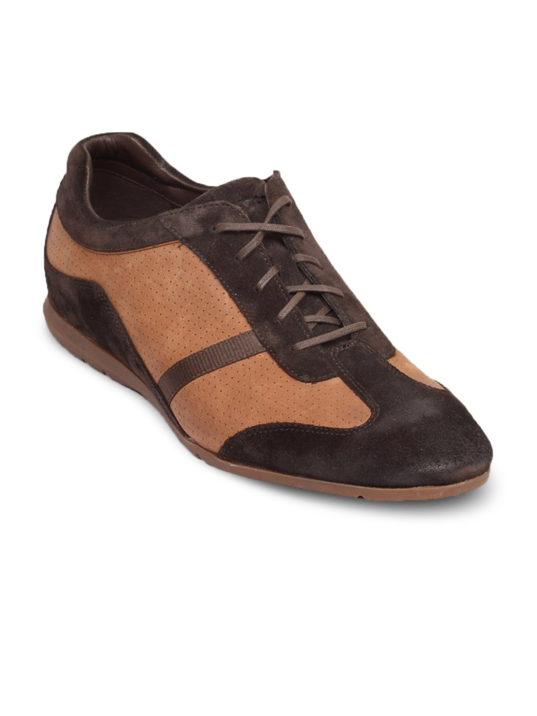 Rockport Rockport Men's Stanton Bitt Choc Suede Shoe (Brown)