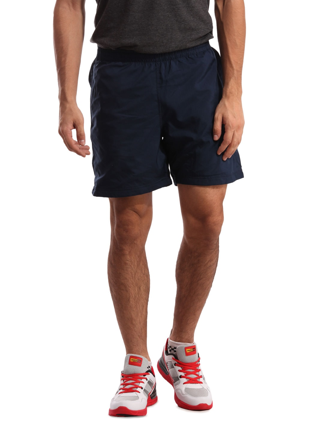 Adidas Adidas Men Navy Blue Shorts (Multicolor)