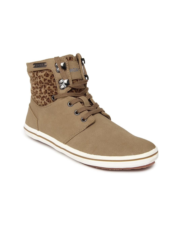 Roxy Roxy Women Brown Flat Shoes