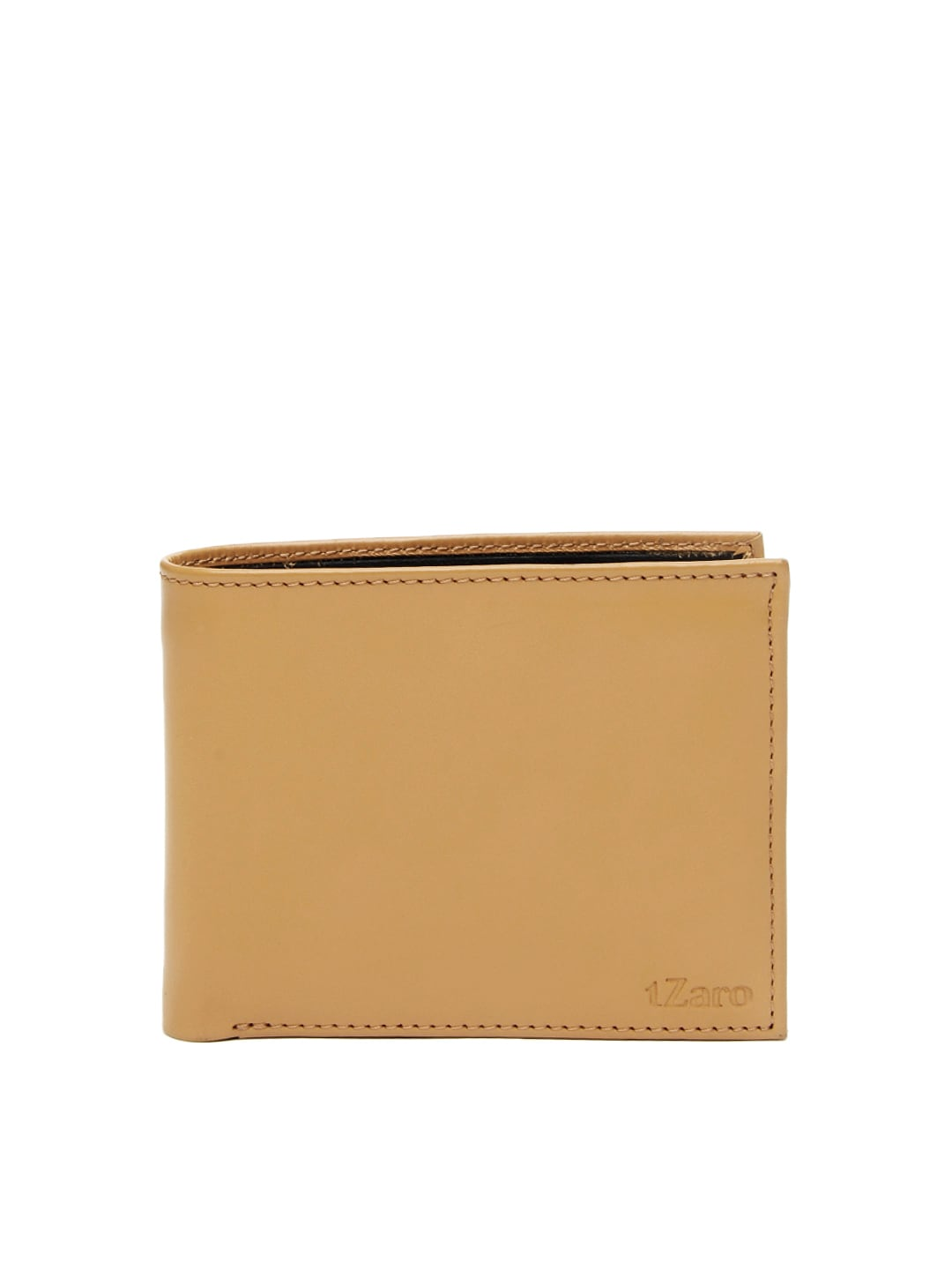 tZaro Men Light Brown Leather Wallet