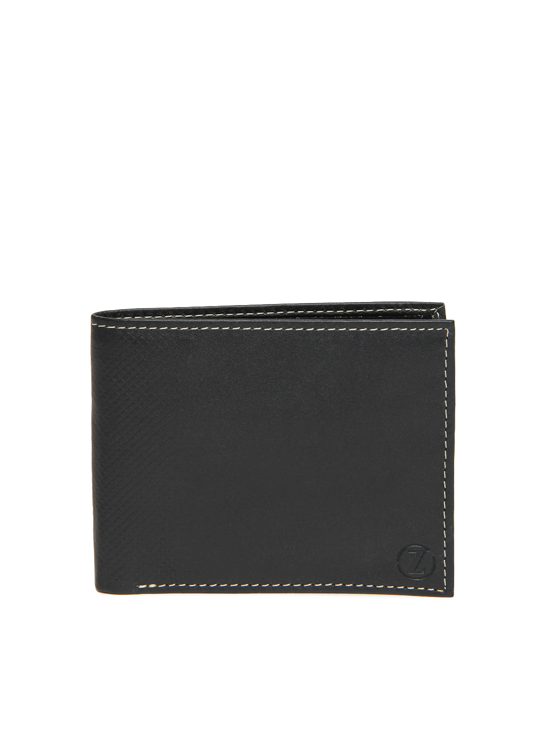 tZaro Men Black Leather Wallet