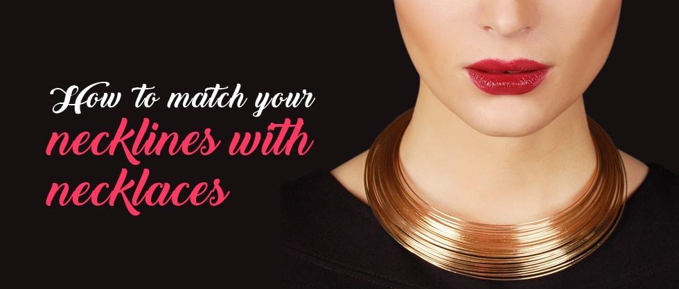 necklines with necklaces