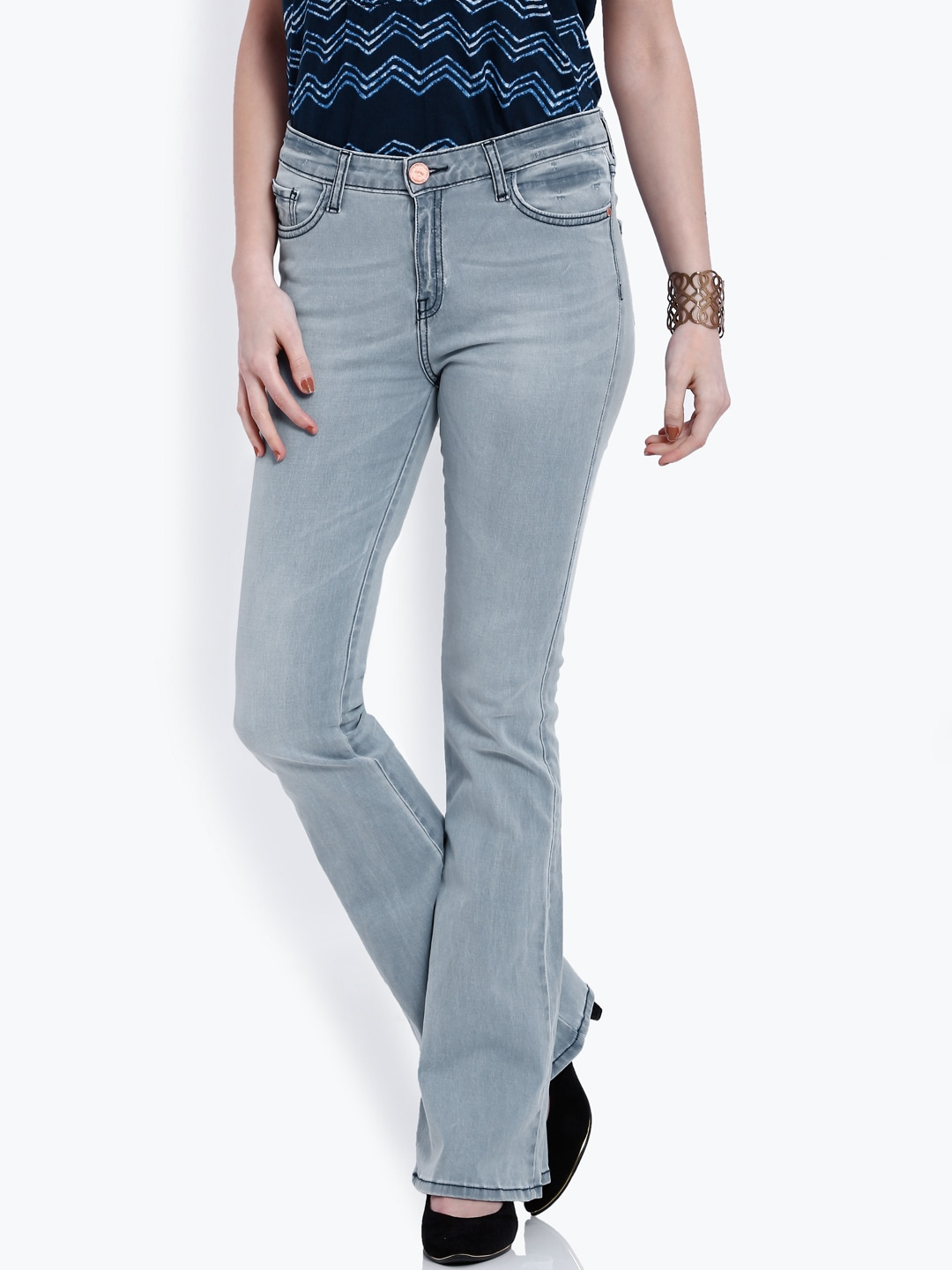 High Waist Jeans - Buy High Waist Jeans online in India