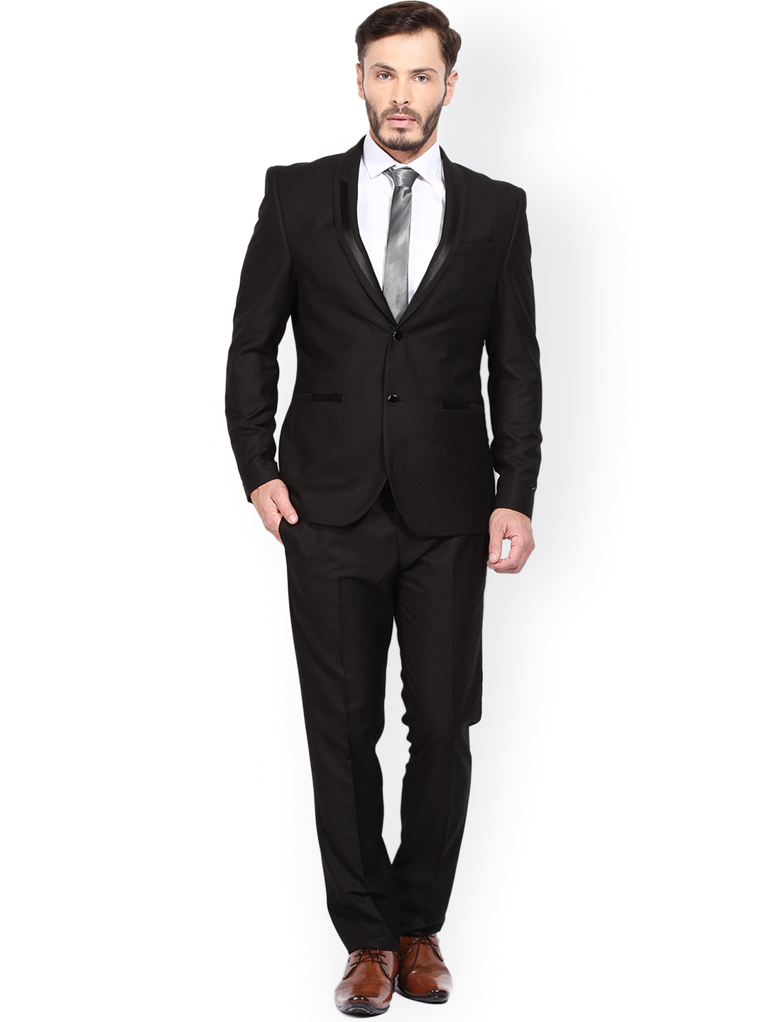Buy Black Suit | Tulips Clothing