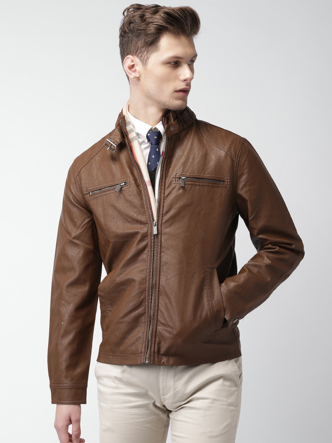Where to buy leather jackets online in india – Modern fashion ...