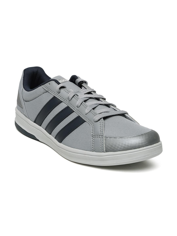 Adidas Neo White Grey Sneakers
