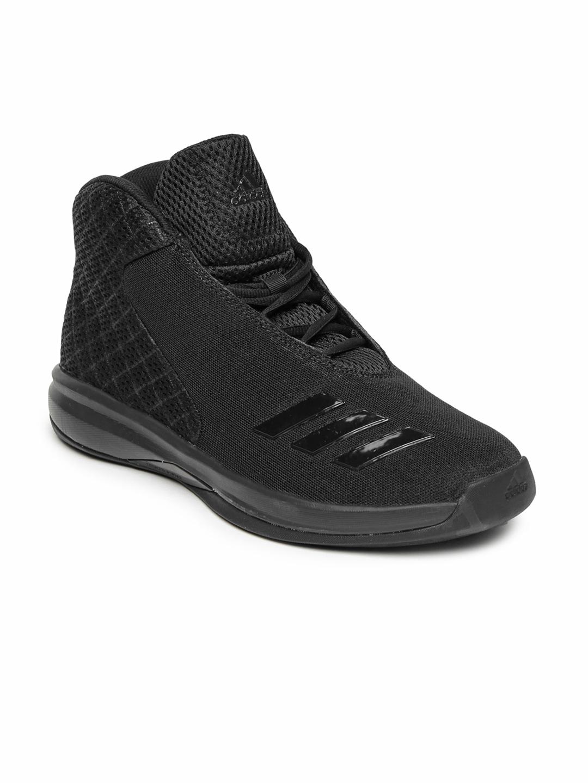 Buy Adidas Men Black COURT FURY 2016 Basketball Shoes - Sports ...