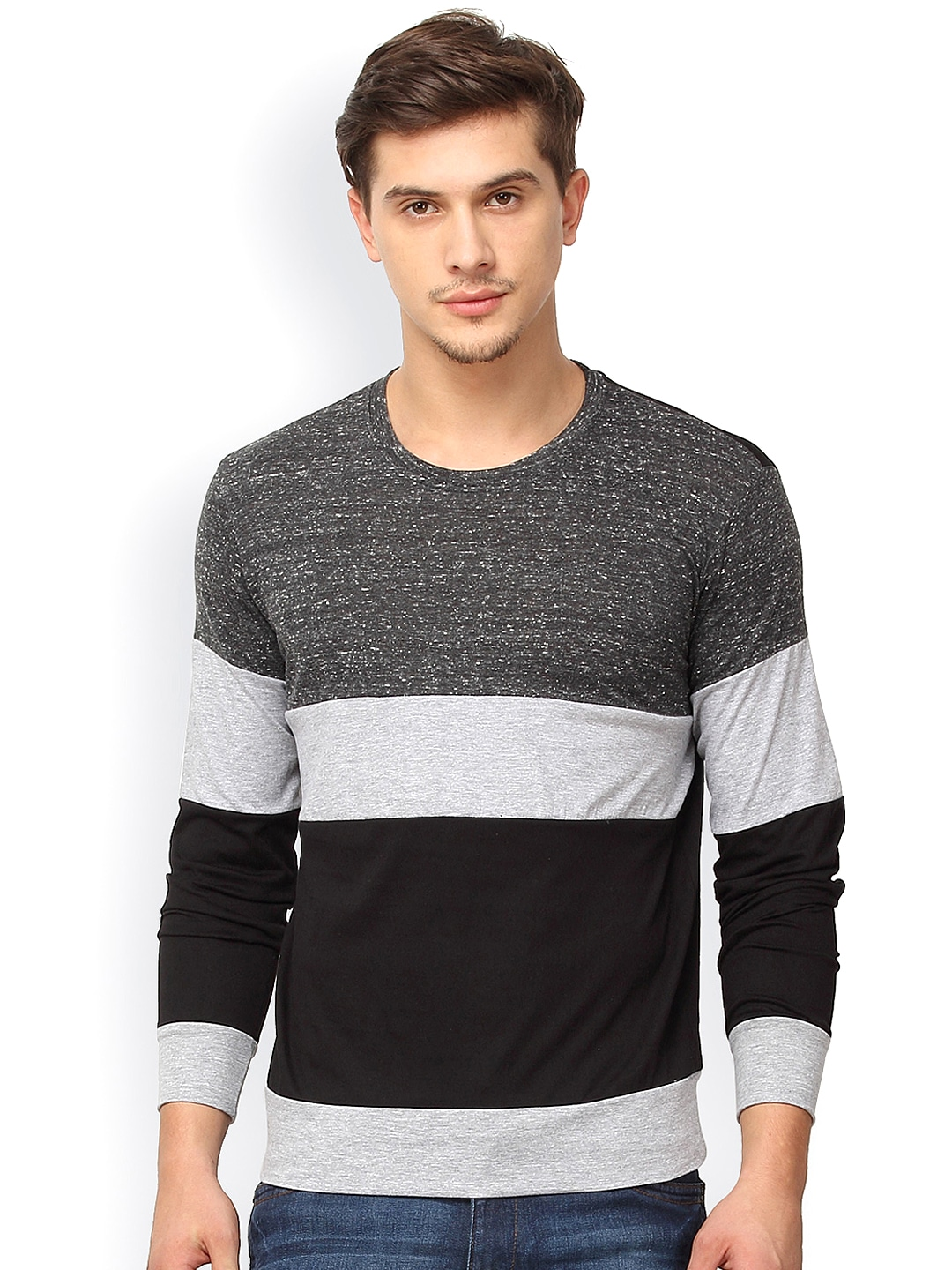 Buy T-Shirts for Men Online At Flipkart. Men's T-shirts Online for Different Occasions. Whether it's to the beach, to the lounge, to parties or for sports, you can easily buy T-shirts online that suit different occasions. Online shopping sites offer you t-shirts for men in a variety of neck styles, colors, fabrics and fit. Moreover.
