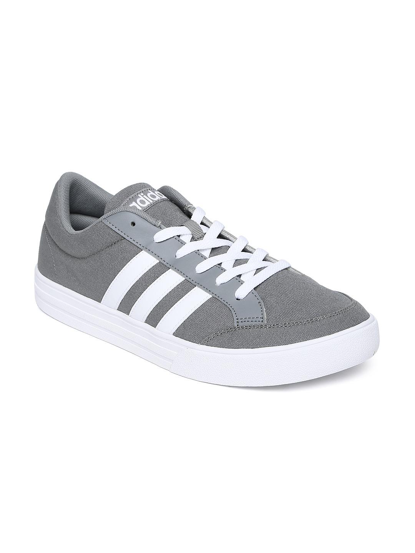 Adidas Neo White Grey
