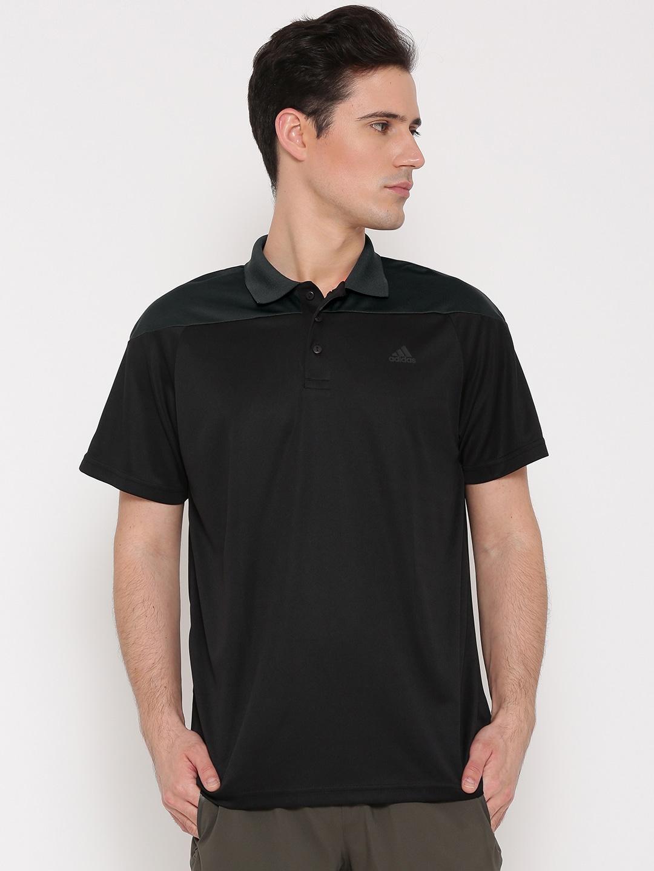 Black t shirt on flipkart - Adidas T Shirts Flipkart