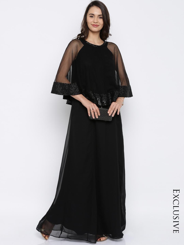 Black Dresses - Buy Black Dresses Online in India