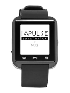 NOISE Unisex Black Impulse Bluetooth Smart Watch