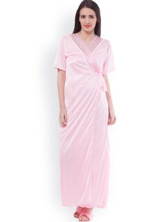 SeDeplace Light Pink Nightdress Set SEDE02CL0010D