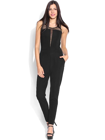 ONLY Black Jumpsuit at myntra