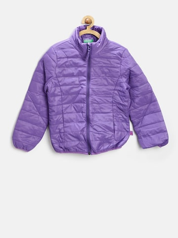 United Colors of Benetton Girls Purple Jacket at myntra