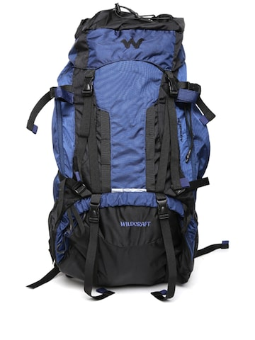 Wildcraft Unisex Blue & Black Alpinist Plus Rucksack at myntra