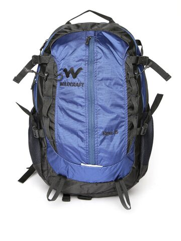 Wildcraft Unisex Navy & Black Eiger Plus Rucksack at myntra