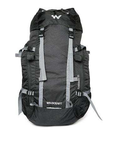 Wildcraft Unisex Black Trailblazer Plus Rucksack at myntra