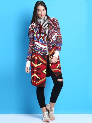 Desigual Multicoloured Shrug at myntra