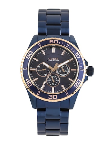 GUESS Men Navy Dial Watch W0172G6 at myntra