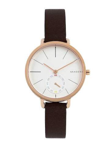 SKAGEN Women White Dial Watch SKW62356 at myntra