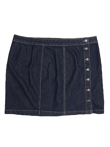 New Look Blue Denim Skirt New Look Skirts at myntra