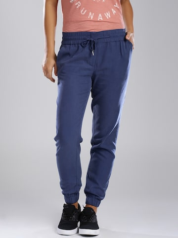 Tommy Hilfiger Navy Jogger Trousers at myntra