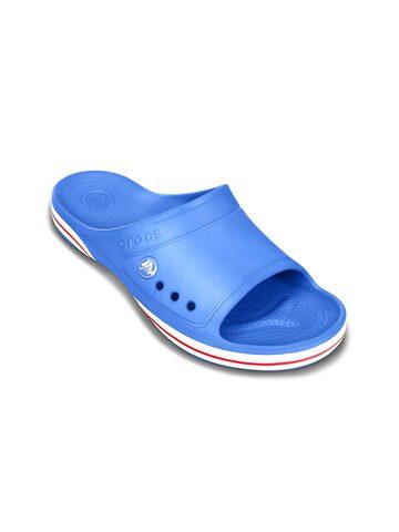 Crocs Unisex Blue Flip-Flops at myntra