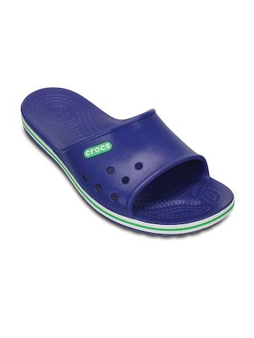 Crocs Men Blue Flip Flops at myntra
