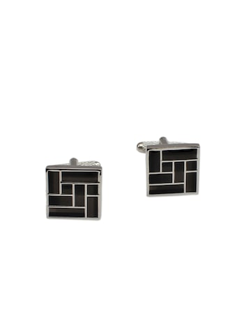 Alvaro Castagnino Black Cufflinks at myntra