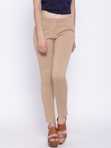 United Colors of Benetton Beige Treggings at myntra