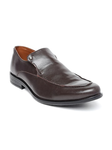 INVICTUS Men Brown Leather Formal Shoes at myntra