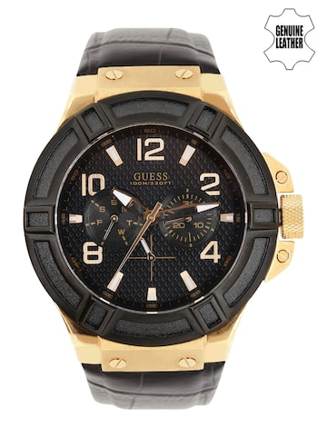 GUESS Men Black Dial Watch W0040G5 at myntra