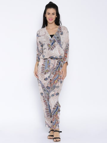ONLY Multicoloured Printed Jumpsuit at myntra