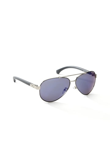 Calvin Klein Unisex Mirrored Sunglasses CKJ448SAF 011 at myntra