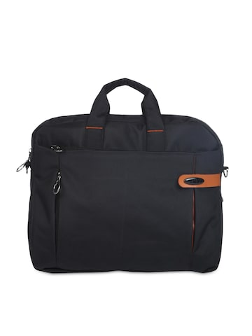 Bendly Unisex Black Laptop Bag at myntra