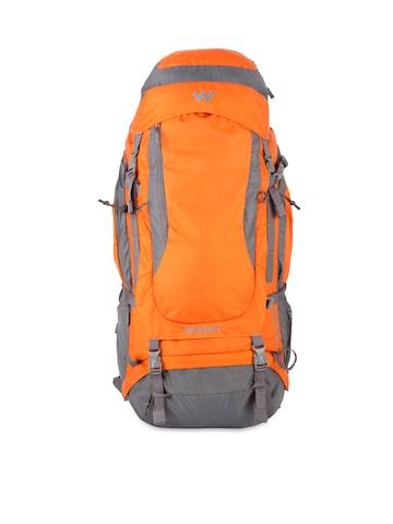 Wildcraft Unisex Orange & Grey Rucksack at myntra