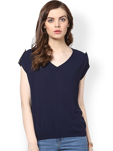 Harpa Navy Top at myntra