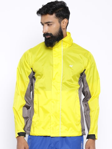 Wildcraft Yellow Rain Poncho at myntra
