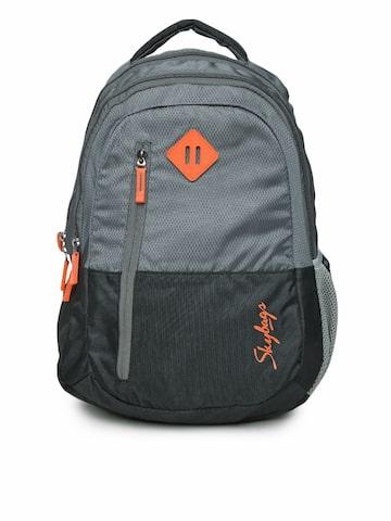 Skybags Unisex Grey Printed Footloose Leo 03 Backpack at myntra