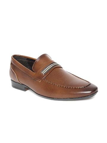 San Frissco Men Brown Semiformal Shoes at myntra