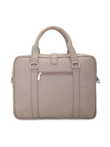 yelloe Men Beige Laptop Bag at myntra