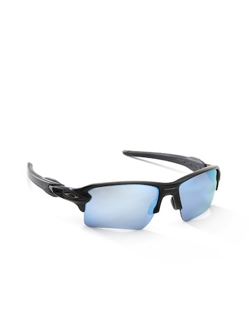 OAKLEY Men Mirrored Half-Rim Sports Sunglasses 0OO918891885859 at myntra