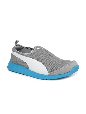 PUMA Unisex Grey Sneakers at myntra