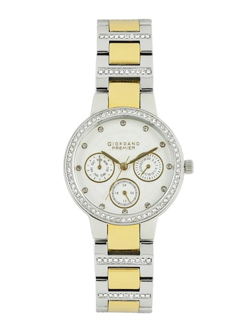 GIORDANO Premier Women White Dial Watch P2053-55 at myntra
