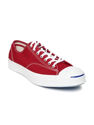Converse Unisex Red Sneakers at myntra